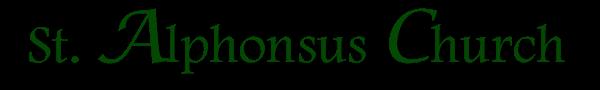 St. Alphonsus Parish Logo